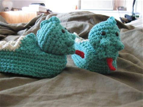 crochet dinosaur slippers ravelry dinosaur slippers pattern by colleen sullivan