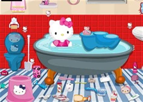 hello kitty bathroom games hello kitty games games kids online