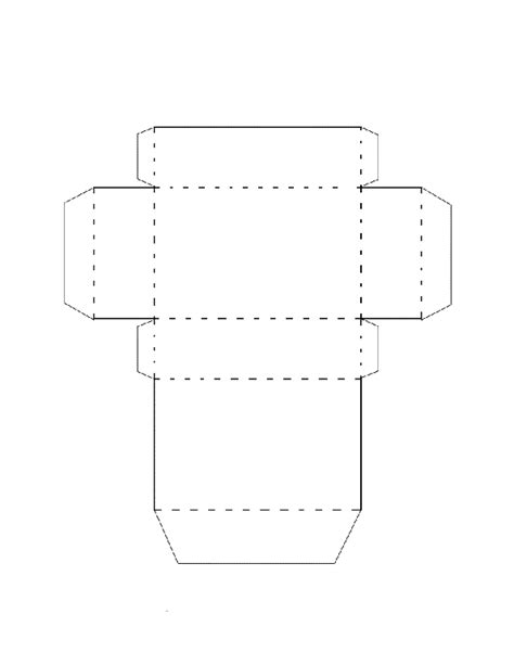 rectangular prism template search results for cut out rectangular prism template