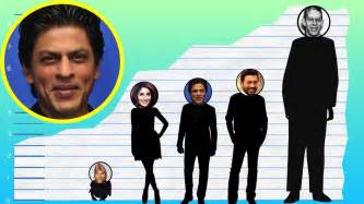 How Tall Is Shah Rukh Khan? - Height Comparison! - YouTube