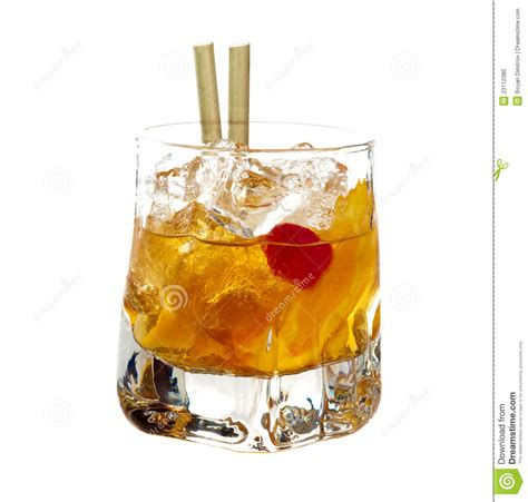 old fashioned cocktail stock photo image 23112380