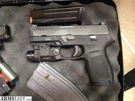 sig p320 laser light armslist for sale trade sig sauer p320 with viridian