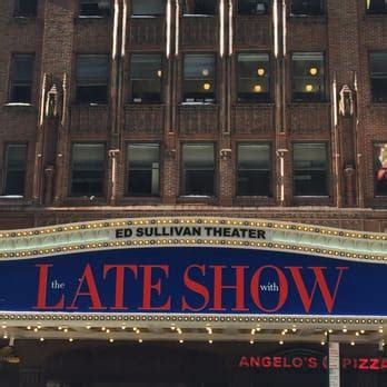 marquee theater seating capacity ed sullivan theater 37 photos 18 reviews performing