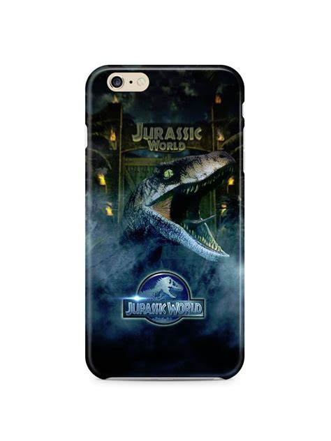 Leather Iphone 4 4s 5 5s 6 6s jurassic world 2015 iphone 4 4s 5 5s 5c 6 6s 7 plus