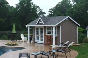 outdoor and backyard pool house cabana designs for sale