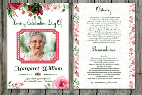 Obituary Card Template by 11 Prayer Card Templates Free Psd Ai Eps Format