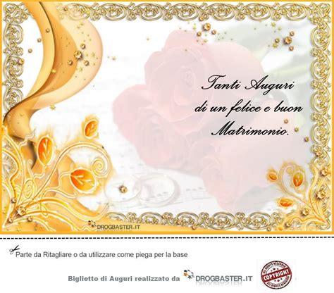 frasi auguri matrimonio sposi biglietto matrimonio da stare gratis