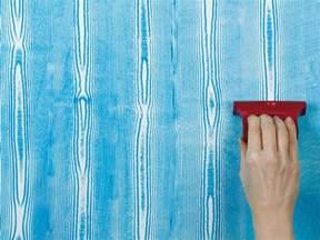 How To Paint Faux Wood Grain Technique - how to create decorative paint techniques diy