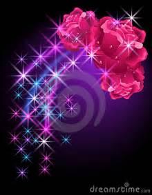 rosas brillantes con movimiento roses and stars royalty free stock photos image 19299358