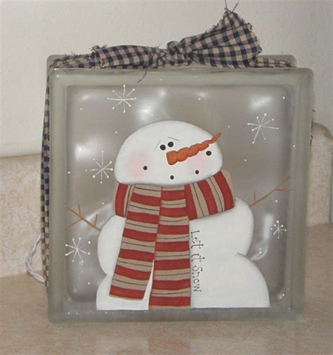 glass blocks craft projects glass block crafts painting on glass blocks is really