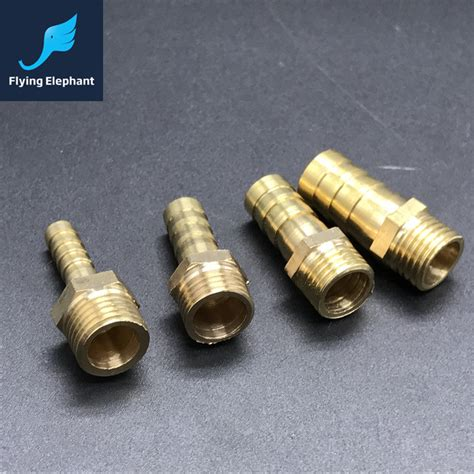 8mm Plumbing Fittings by 1piece Brass Hose Nippler Pipe Joint Fittings Od 6mm 8mm