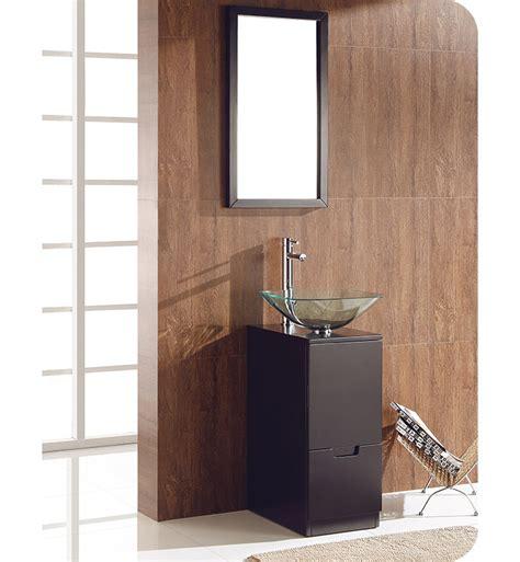 espresso mirror bathroom fresca fvn6117es brilliante 17 quot espresso modern bathroom