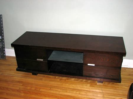 modern tv bench modern tv bench with dvd storage 250 obo
