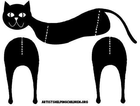 black cat templates for bouwplaten voor kinderen hobby blogo nl