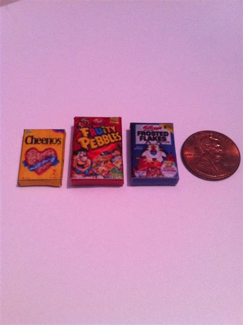 Miniatur Mini Collection Cookies Dan Snack Set 1000 images about miniature packaged foods on miniature miniature food and all the