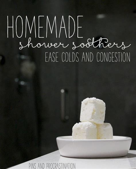 shower soothers for colds and congestion pins
