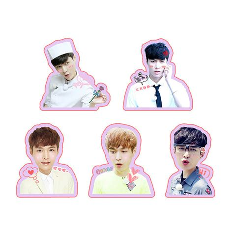 Exo Chanyeol Cheeks Sticker youpop kpop exo lay album pvc stickers for luggage cup notebook laptop car fridge diy stickers