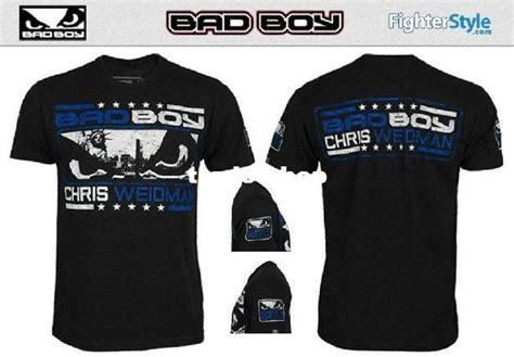 Kaos T Shirt Bad Boys Jaspirow Shopping 1 bad boy chris weidman mma tshirts 162 themed shirts t shirts design from trade shop 20