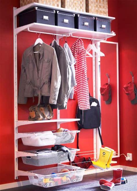 Algot Closet System by Algot Storage System In A Hallway Dressing Closet