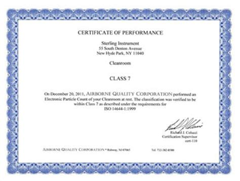 clean room certification sterling instrument announces new iso 7 class 10000 clean room certification