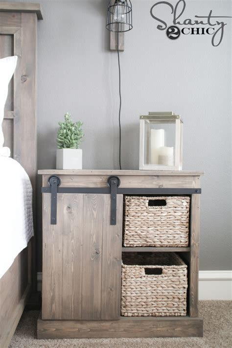 Kitchen Island With Wheels Sliding Barn Door Nightstand Diy Shanty 2 Chic