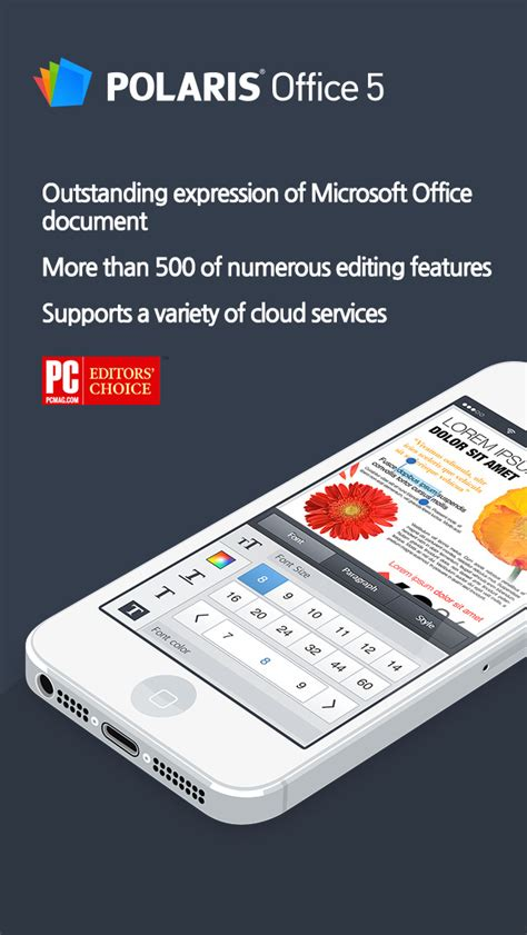 Polaris Office 5 App polaris office 5 for microsoft office word