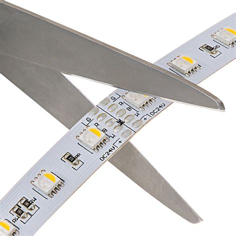Rgbw Led Strip Lights 24v Led Tape Light W White And Lighting Strips Led
