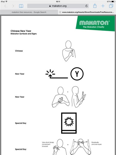 new year symbols names new year signs from makaton https www makaton