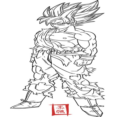 dibujos de dragon ball fotos ideas para colorear ellahoy dibujos para pintar de goku dragon ball kai drag繝箋n ball