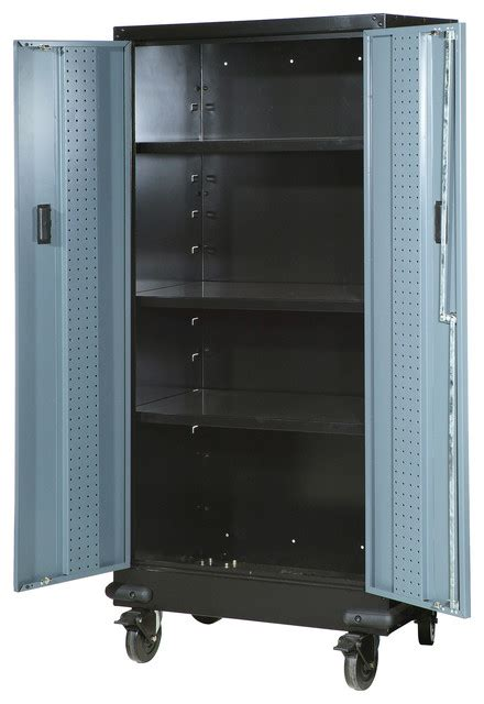 tall storage cabinet on wheels 30 quot tall storage cabinet with casters beach style