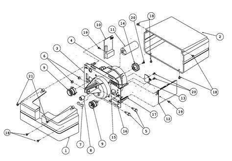 genie garage door opener parts diagram genie garage opener parts model is9001 sears partsdirect
