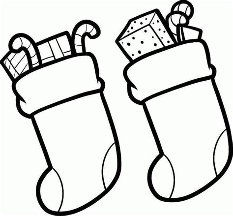 Christmas Stocking Colouring Pages Printable Free For Kids Boy Coloring Pages To Print Printable