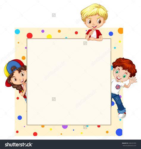 kids designs kids border design clipart clipartxtras