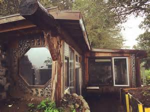 cost to build small cabin earthship cabin in california