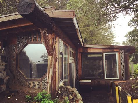 Cost To Build A Small Cabin by Earthship Cabin In California