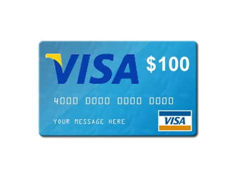 100 Visa Gift Card - cupcake giveaways