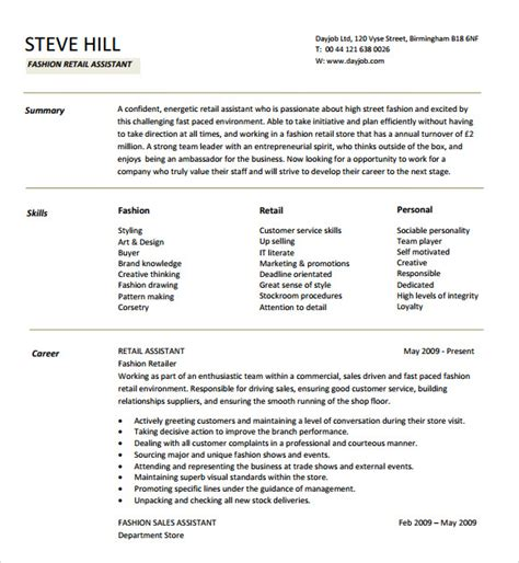 resume format for fashion designer pdf 11 sle designer resumes sle templates