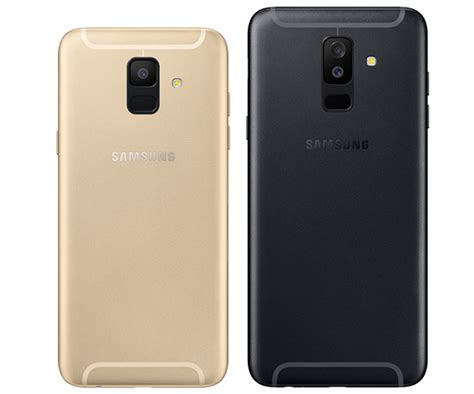 Handphone Samsung Galaxy A6 samsung introduces the galaxy a6 and a6 featuring two rear cameras and a 24mp selfie shooter