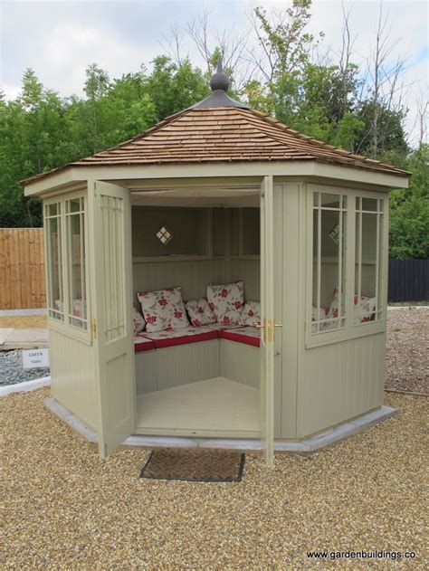 Corner Summerhouse With Shed by 25 Great Ideas About Corner Summer House On