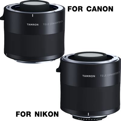 Teleconverter Lens 2 0x tamron teleconverter 2 0x model tc x20 กล อง เลนส ec
