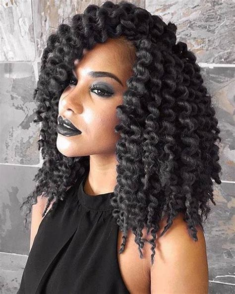 how to crochet braid damaged hair 41 chic crochet braid hairstyles for black hair page 4