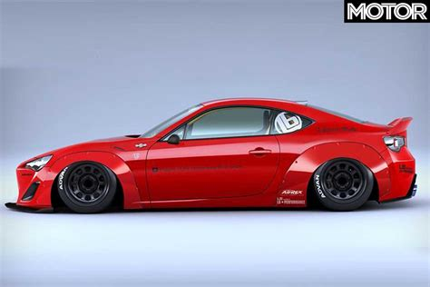 subaru liberty walk liberty walk s toyota 86 subaru brz kit revealed
