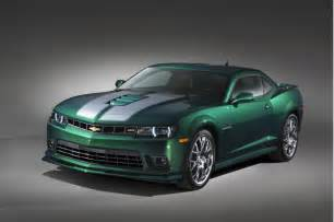chevy picks green flash name for camaro special edition