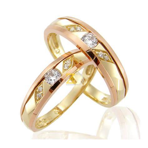 Cincin Kawin Nikah Tunangan Pasangan Perak Lapis Rosegold model cincin kawin awra zlata silver