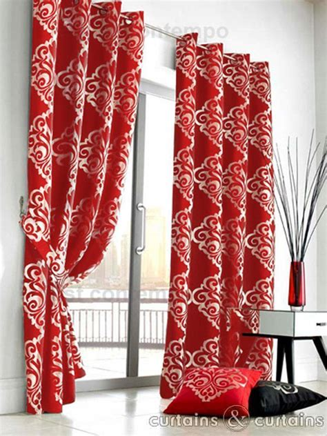 red and white patterned curtains black and red curtain decorating pictures to pin on