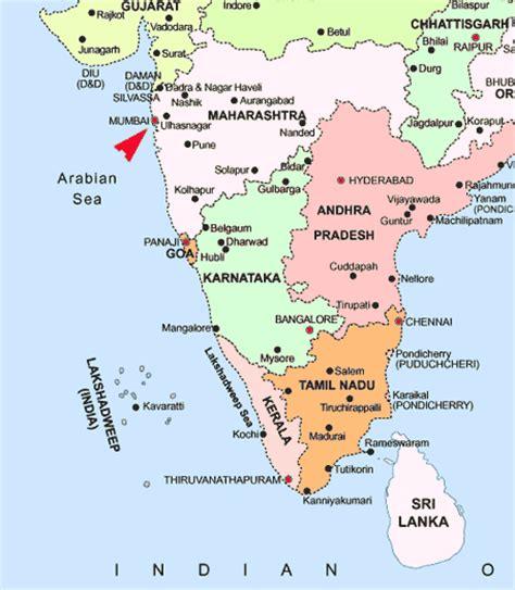 Maps of Mumbai