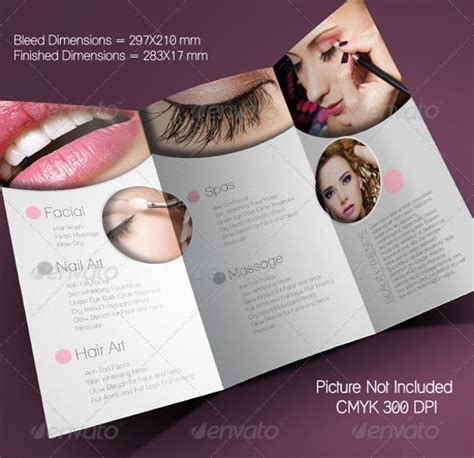 salon brochure 20 salon brochure templates psd vector eps jpg