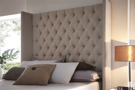 Button Back Headboard by Cygnus Headboard
