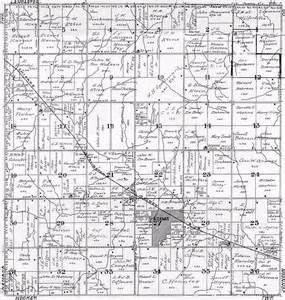 1922 gage co ne atlas plat map