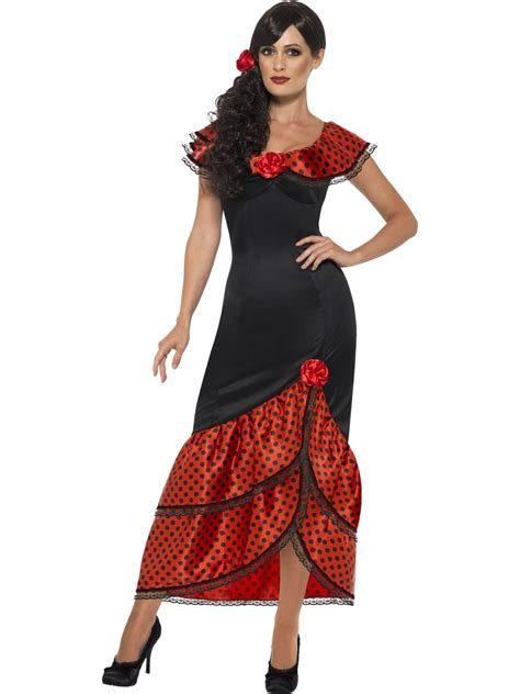 Dress Costume flamenco senorita costume 45514 fancy dress